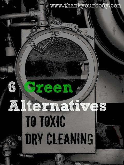 Dry cleaning is a really toxic way to clean your delicate clothes. Here are some great   alternatives!