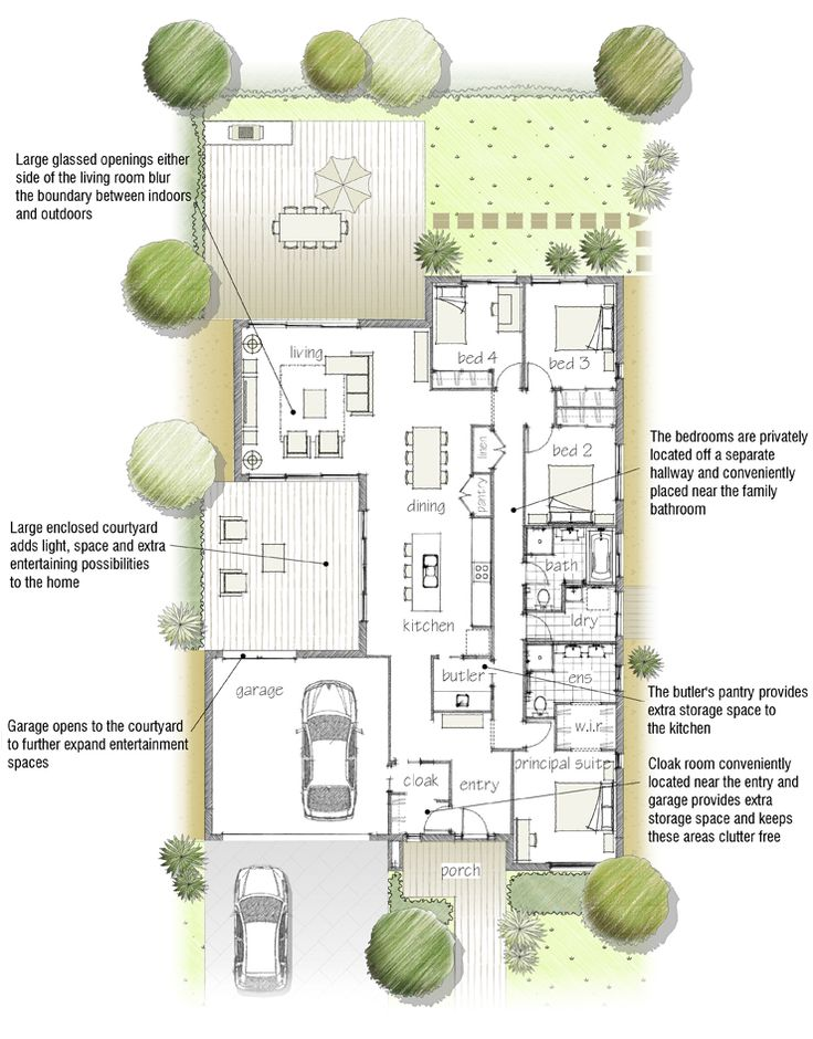 1033 best Interesting houses and floor plans. images on ...