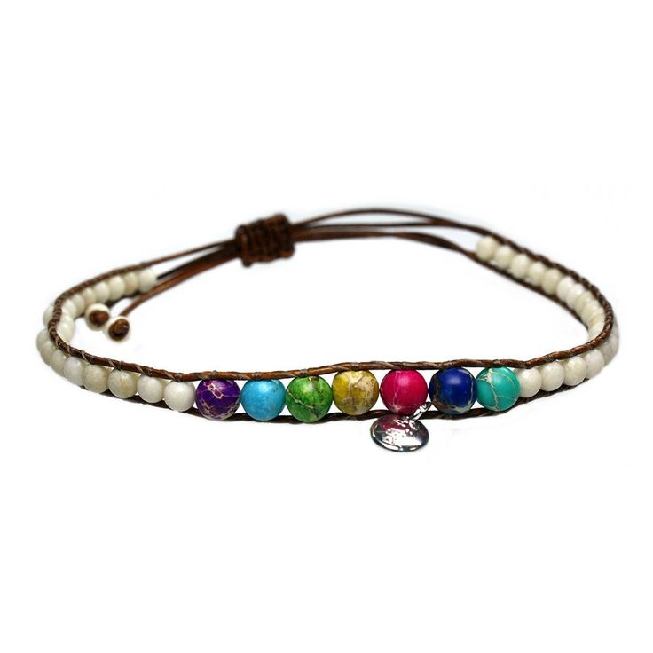 Anklets for women Classic - Fossil and Regalite