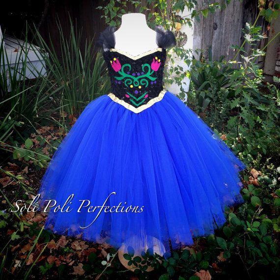Princesa Anna inspirado Vestido de Tutu