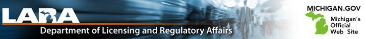 Department of Licensing & Regulatory Affairs