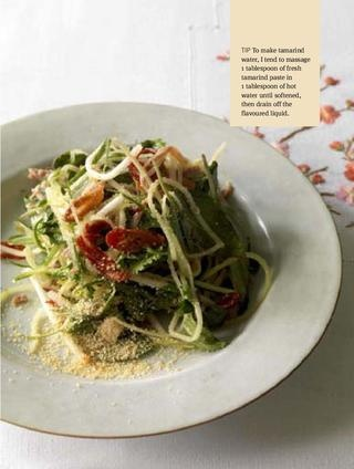 Spiced Duck salad from John Torode of BBC TV's Masterchef fame. From his book John Torode's Chicken and Other Birds. www.quadrille.co.uk