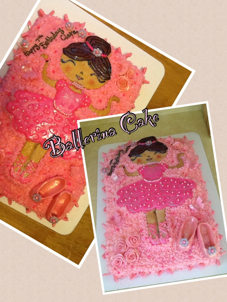 21 best images about ballet birthday on pinterest ballet for Ballerina cake decoration