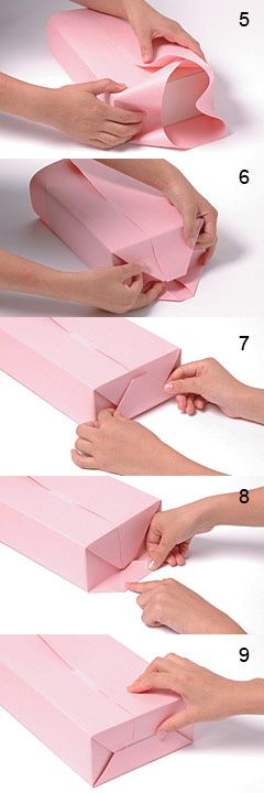 Gift wrapping method