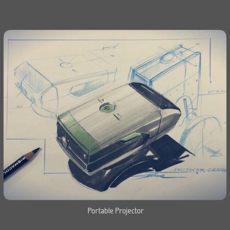 Portable Projector concept design