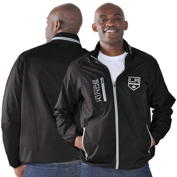 Los Angeles Kings G-III Sports by Carl Banks Game Plan Full-Zip Jacket - Black - $74.99