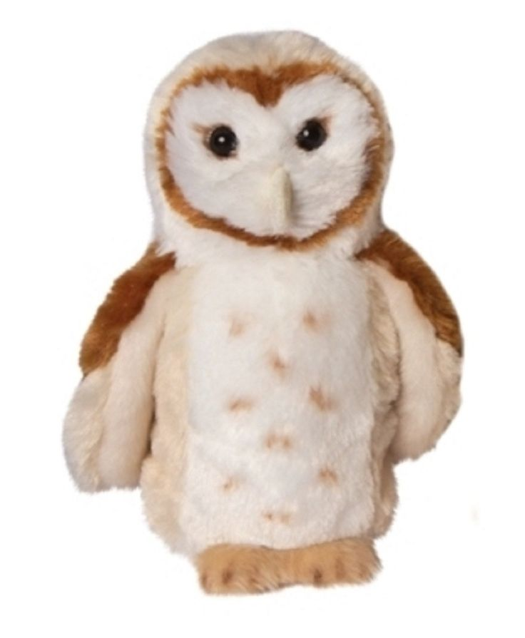 Rafter the Barn Owl - 7 Inch Bird Stuffed Animal - Plush Toy By Douglas: The Cuddle Toy This cuddly, soft owl measures approximately 7 inches tall (17 cm) & 3.5 inches wide. Rafter brings to mind crea