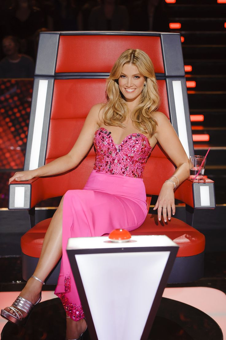 Delta Goodrem on The Voice Kids Australia.