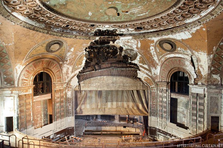 What The Haunting Beauty Of Abandoned Theaters Reveals About The Movie Biz