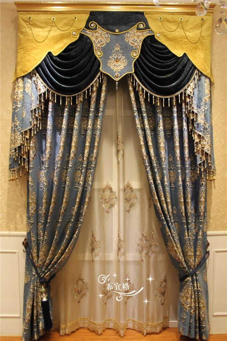 The New European Style High Grade Yarn Dyed Jacquard Chenille Curtains Bedroom Living Room Curtains, Screens From Xiangxiangtextile, $33.2 | Dhgate.Com