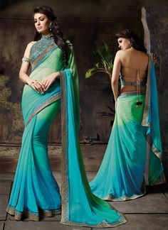 http://www.sareesaga.in/index.php?route=product/product&product_id=21730 Style:Designer SareeShipping Time:10 to 12 Days Occasion:Festival ReceptionFabric:Fancy Fabric Colour:Green Turquoise Work:Embroidered Resham Work Lace For Inquiry Or Any Query Related To Product, Contact :- +91-9825192886, +91-7405449283