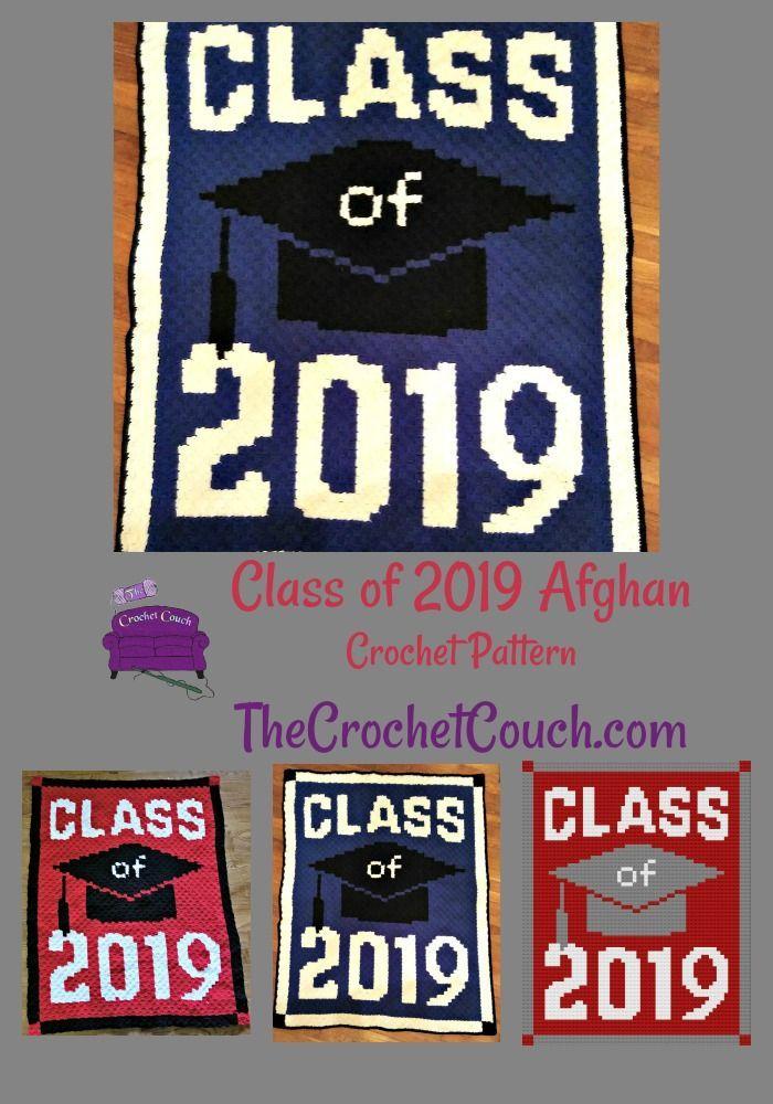 Class of 2019 Afghan, C2C Crochet Pattern   Crochet Teacher