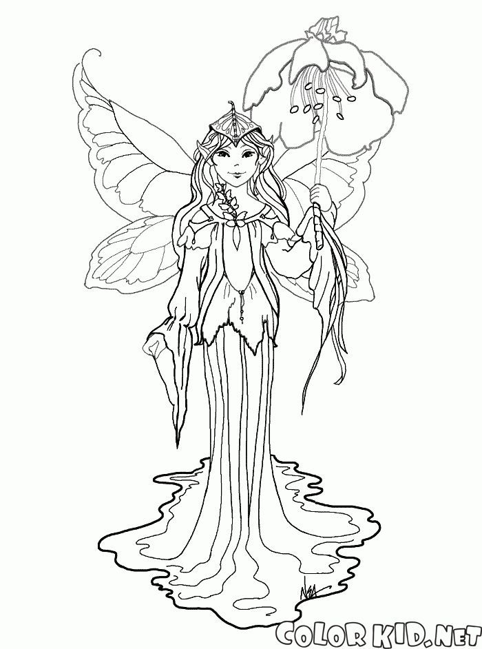 Image Result For Fairy Elves Coloring Pages For Adults