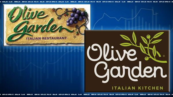 Olive Garden's new logo leaves investors with a bad taste in their mouth