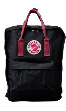 fjallraven kanken classic black and ox red
