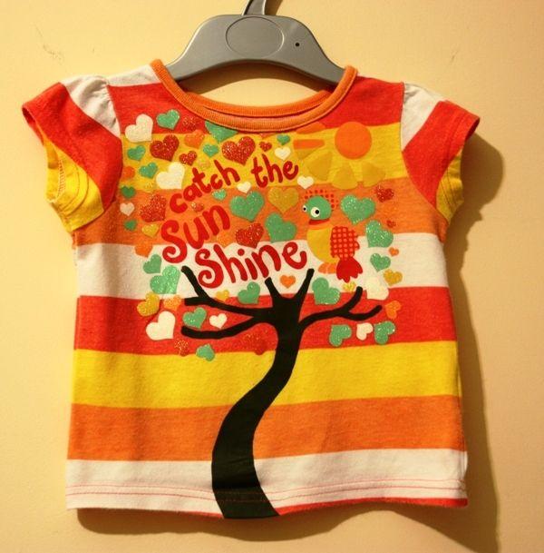 Fajna koszulka na wiosnę :)   #dzieci #dziecięca #odzież #moda #modadziecięca #dziecięce #ubranka #ciuszki #bluzka #koszulka #DziecioCiuszek