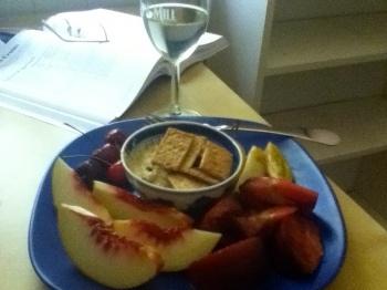 Faux Cheat Lunch (375 calories)