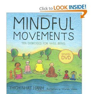 Mindful Movements, a book by a child therapist, Jennie Wilson. Helps with teaching children #mindfulness.