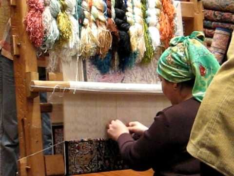 Hand Weaving Turkish Rug