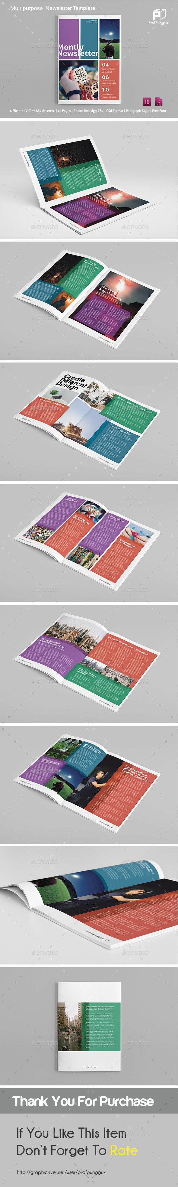 47 best newsletter template images on pinterest newsletter modern colorful newsletter vol2 newsletter ideasnewsletter templatesnewsletter designprint spiritdancerdesigns Choice Image