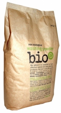 Bio-D Οικολογική/Βιοδιασπώμενη Απορρυπαντική Σκόνη για Ρούχα 2KG