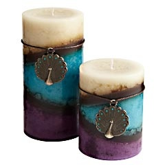 Looking good and smelling great are two things we all strive for. Our candles do, too. These hand-poured pillars are steeped with the succulent blend of sweet amber and sandalwood, all while looking lovely.