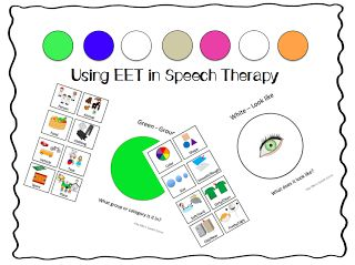 eet speech therapy Expanding Expression Tool (EET)