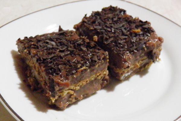 Δροσερό γλυκό σοκολάτα – μπισκότο