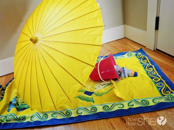If you can't get to the beach, bring the beach to your own home by throwing an indoor beach party. Guests are asked to wear full summer attire and forget that it's cold outside. Everything from decor, food, and games reflect the beach attitude and ambience.