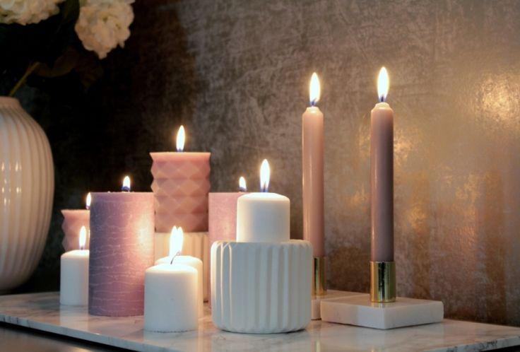 Kynttilöillä tunnelmaa