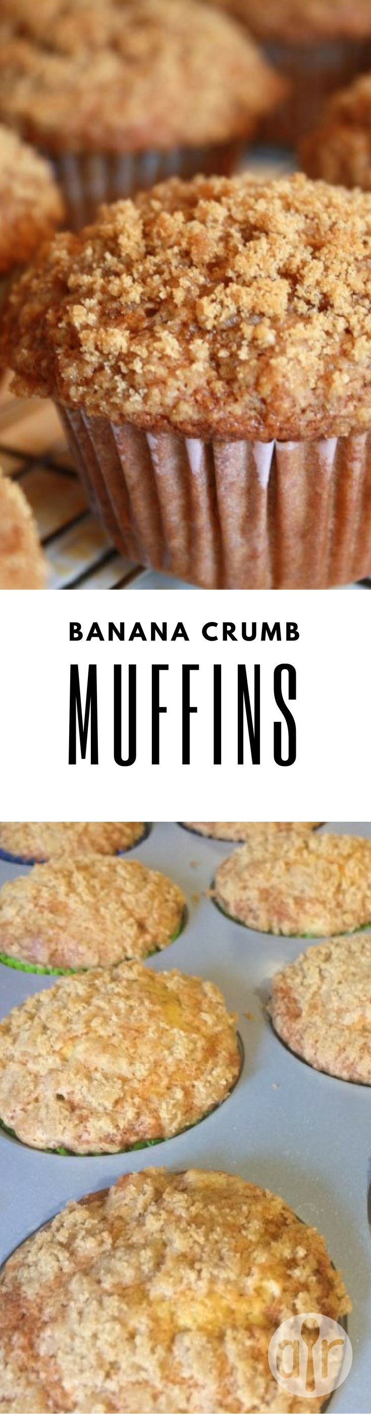 """Banana Crumb Muffins 