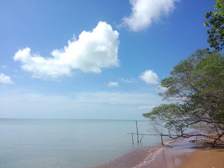 Tanjung Berikat, Bangka Tengah, Kepulauan Bangka Belitung  #beach #love