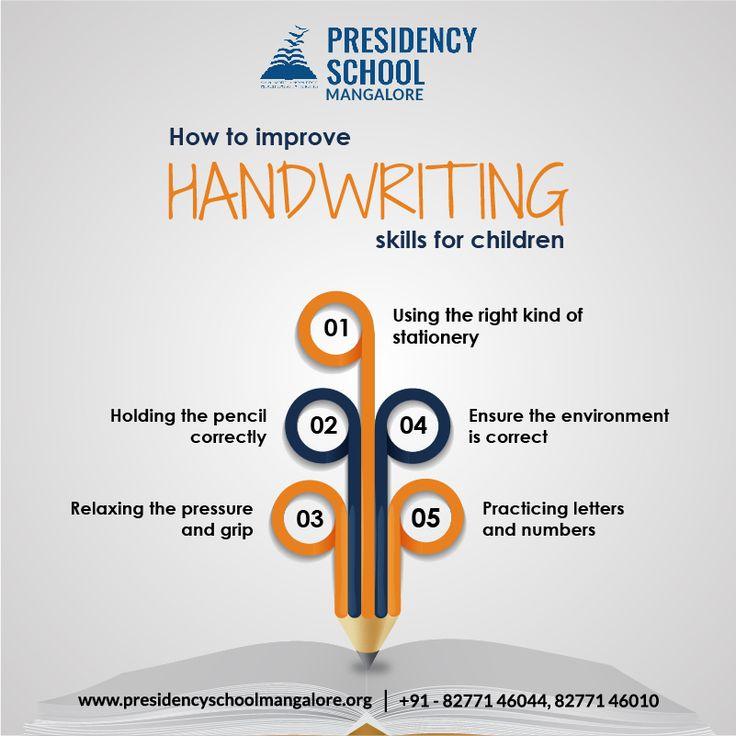 How to improve handwriting skills for children Improve