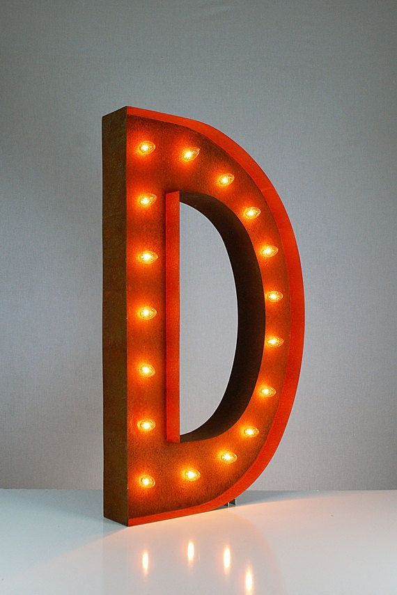 Tin Letters With Lights The 25 Best Marquee Lights Ideas On Pinterest  Diy Marquee