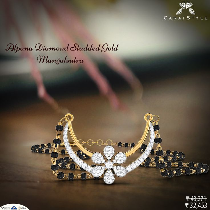 """It's all about those three little words, """"I trust you."""" #diamond #mangalsutra #tanmaniya"""