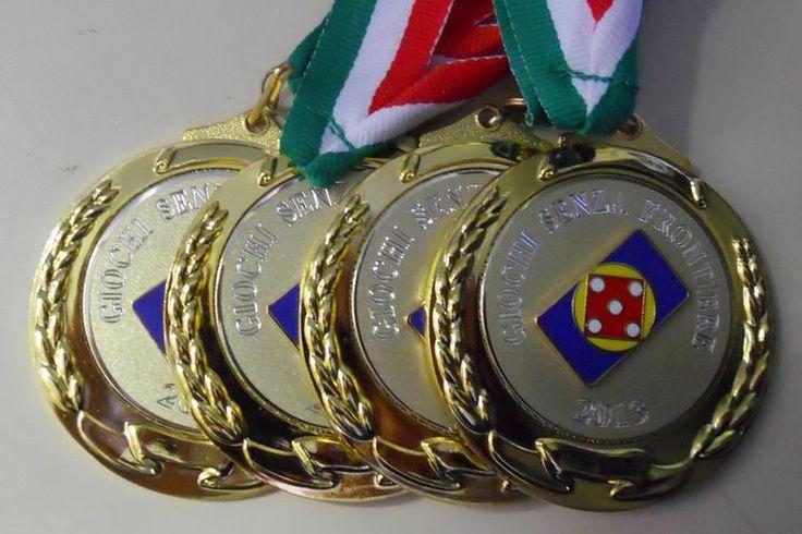 Le Medaglie d'Oro per la Squadra 1ª Classificata