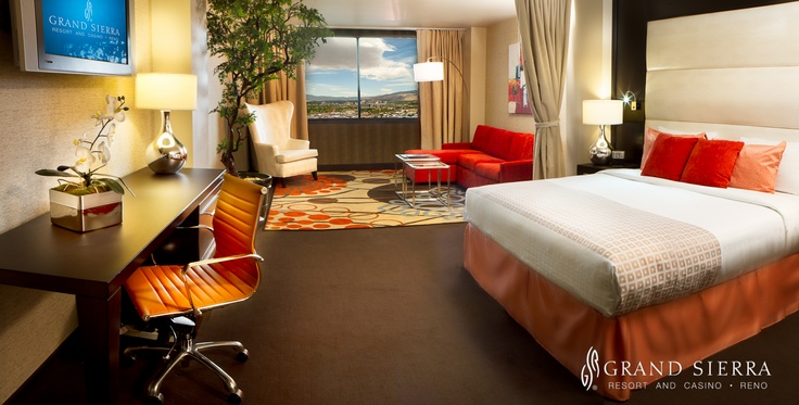 Have a look at our updated rooms at the Grand Sierra Resort!: Resorts Hotels, Renospark Hotels, Stay, Www Renoluxuryresort Com, Sierra Resorts, Computers Chairs, Reno Sparkly Hotels, Grand Sierra Resort
