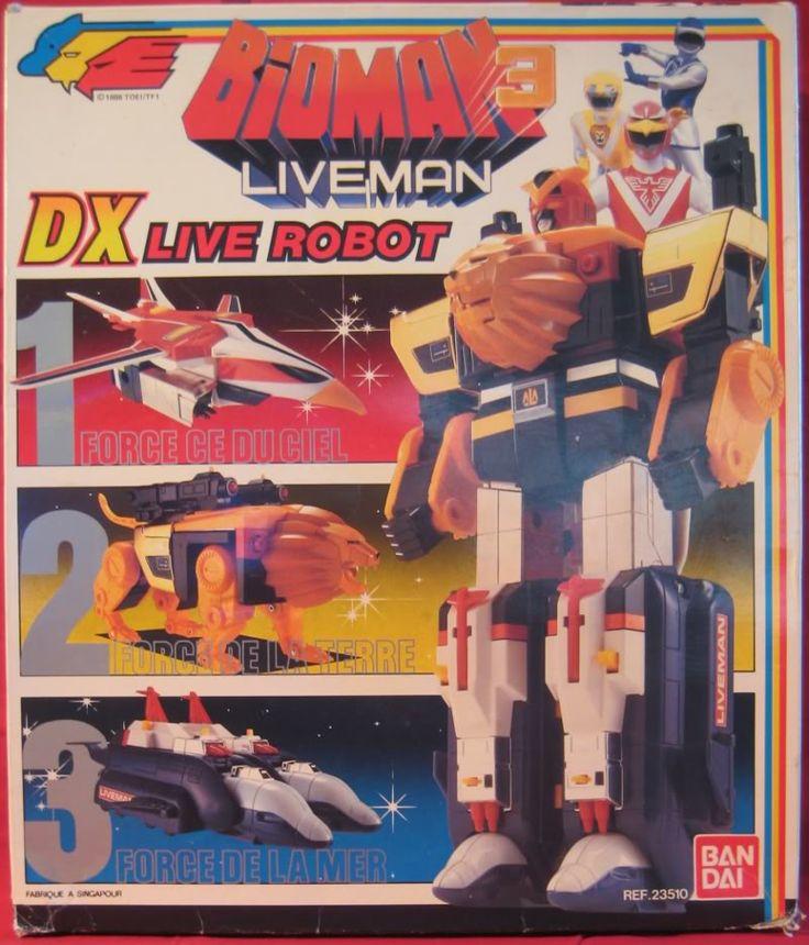 Bioman 3 Liveman (BANDAI)1988