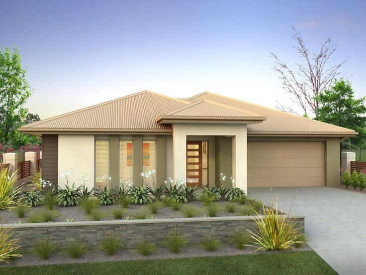 Photo of a rendered brick house exterior from real Australian home - House…