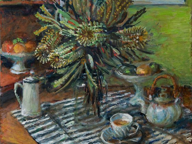 """Banksias""  Margaret Olley"