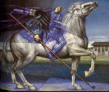 El caballo blanco - David Manzur