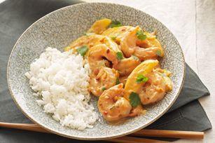 Shrimp sauce coconut