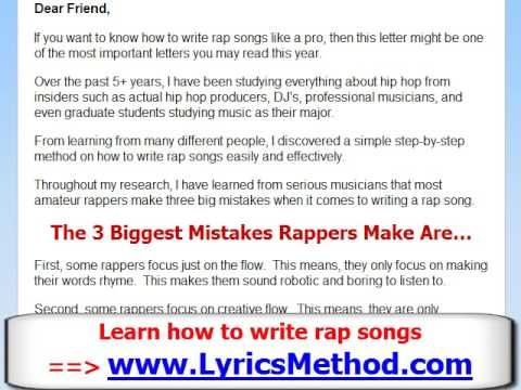 How to write a-punk lyrics meaning