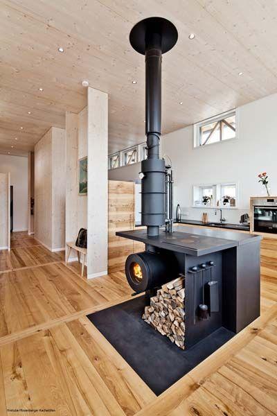 die besten 25 kleiner holzofen ideen auf pinterest. Black Bedroom Furniture Sets. Home Design Ideas