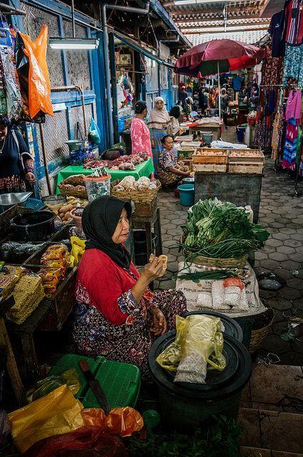 Banyuwangi Traditional Market, Indonesia