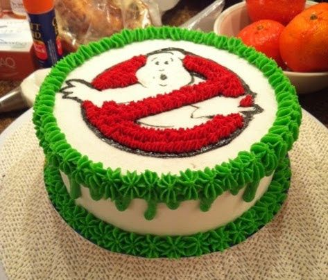 ghostbusters cake - For all your cake decorating supplies, please visit craftcompany.co.uk