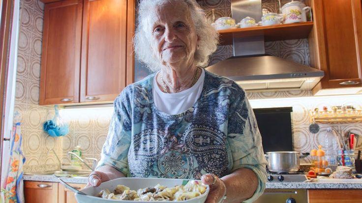 How to Make Tagliatelle Pasta with 2 Sauces | Pasta Grannies