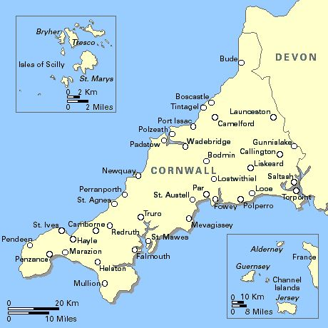 Cornwall - A beautiful place to visit.