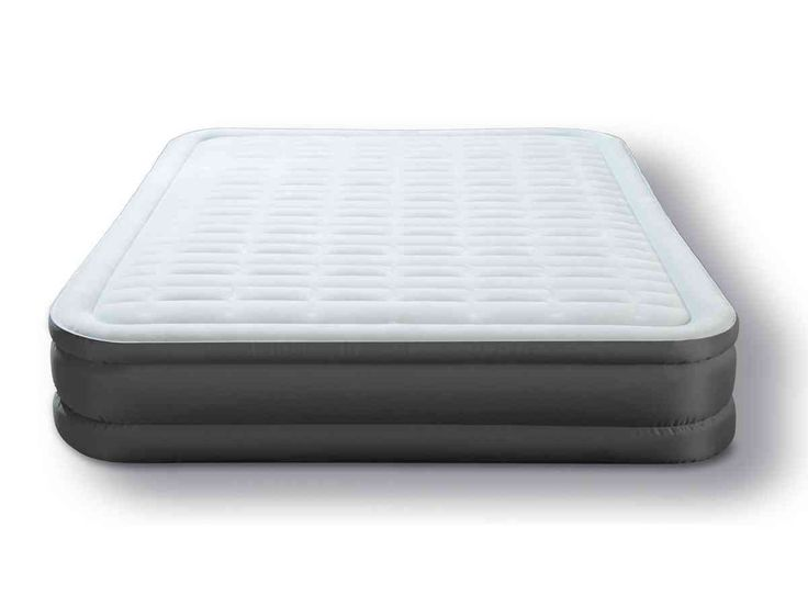 intex premaire queen size raised airbed with built in electric pump