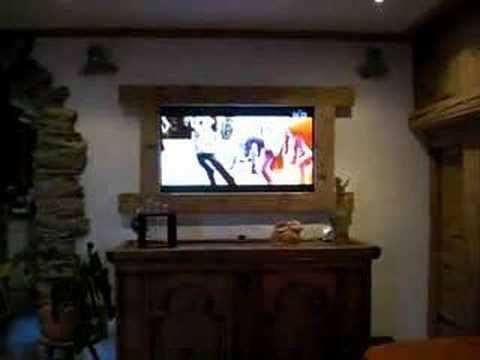 Hidden Tv Behind Painting Random Home Decor Pinterest